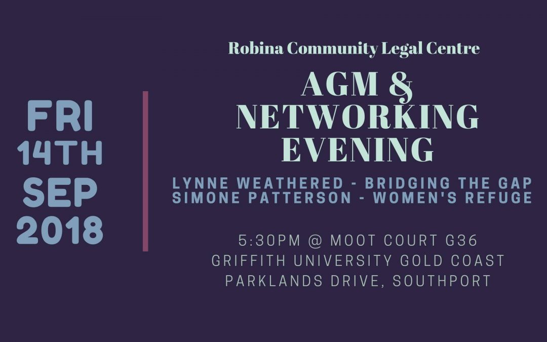 AGM and Volunteer Appreciation Evening 2018