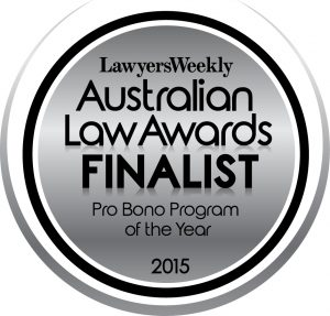 Pro Bono Program of the Year