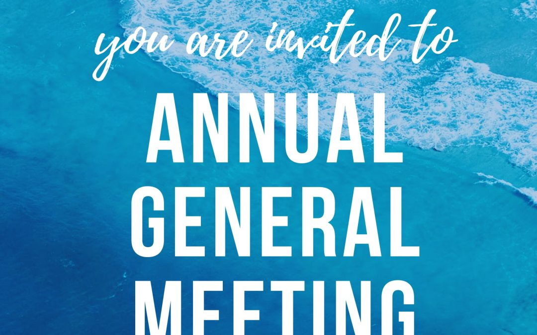 AGM and Volunteer Appreciation 2019